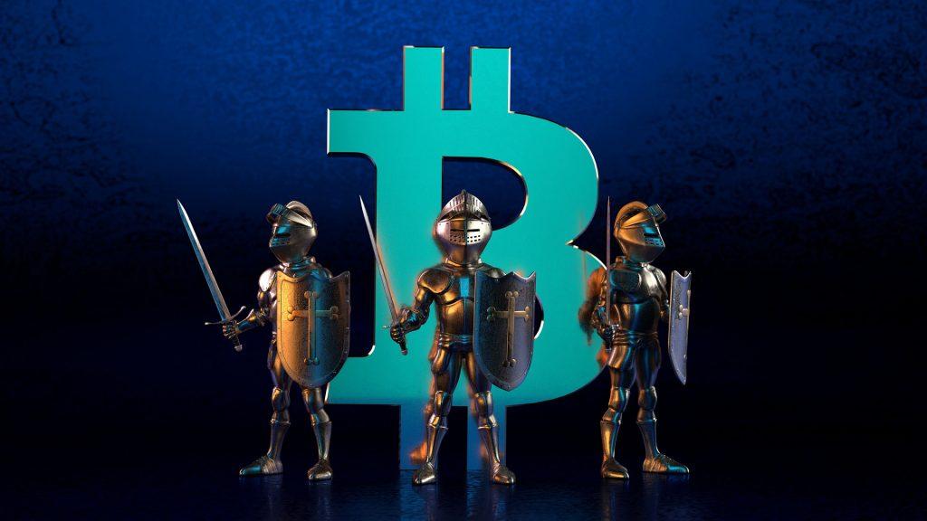Schutz der Kryptowährungen